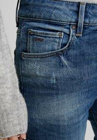 G-Star - NAVIK HIGH SLIM ANKLE - Jeans slim fit - authentic blue - 3
