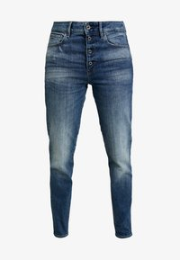 G-Star - NAVIK HIGH SLIM ANKLE - Jeans slim fit - authentic blue - 4