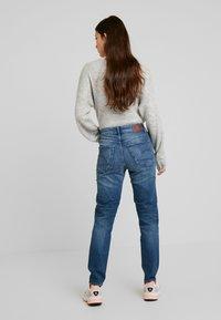 G-Star - NAVIK HIGH SLIM ANKLE - Jeans slim fit - authentic blue - 2