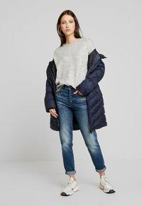 G-Star - NAVIK HIGH SLIM ANKLE - Jeans slim fit - authentic blue - 1