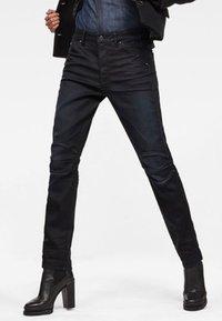G-Star - 5622 MID BOYFRIEND TAPERED  - Straight leg jeans - dark blue denim - 0
