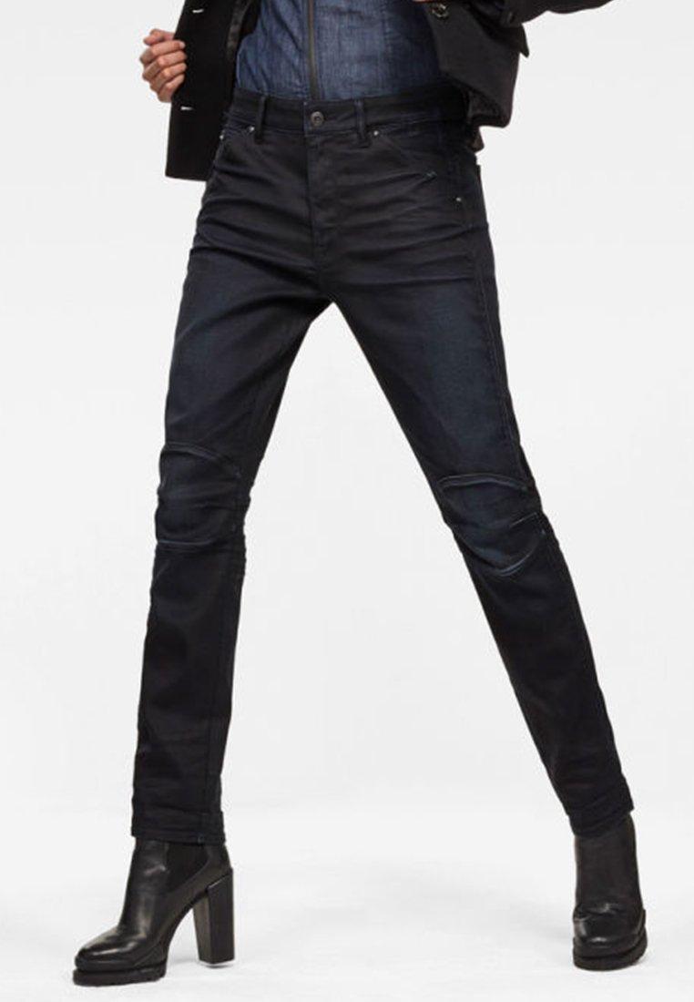 G-Star - 5622 MID BOYFRIEND TAPERED  - Straight leg jeans - dark blue denim