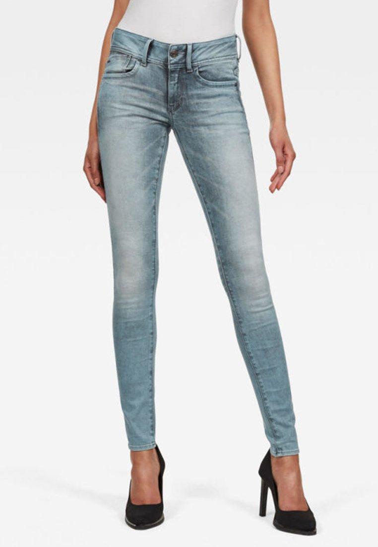 G-Star - LYNN MID SKINNY - Jeans Skinny Fit - light blue
