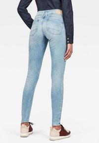 G-Star - LYNN MID SKINNY  - Jeans Skinny Fit - sun faded blue - 1