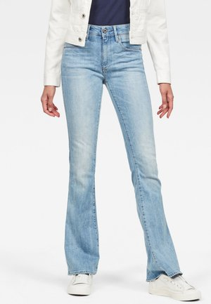 3301 - Flared Jeans - light-blue denim