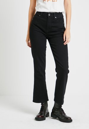 CODAM HIGH KICK 7/8 - Flared Jeans - black