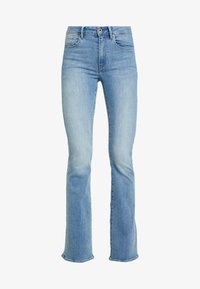 G-Star - 3301 HIGH FLARE WMN - Flared jeans - lt aged - 4