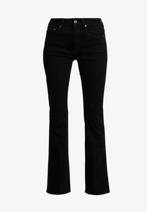 3301 HIGH FLARE WMN - Flared Jeans - black