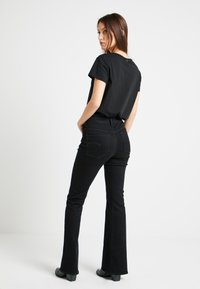 G-Star - 3301 HIGH FLARE WMN - Flared Jeans - black - 2