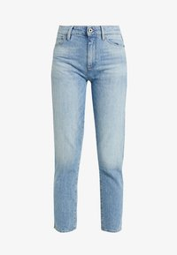 G-Star - 3301 HIGH STRAIGHT 90'S ANKLE - Jeans straight leg - light aged - 4
