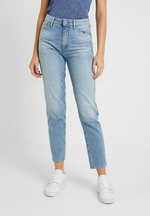 3301 HIGH STRAIGHT 90'S ANKLE - Jeans straight leg - light aged
