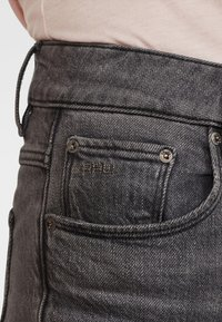 G-Star - 3301 HIGH STRAIGHT 90S ANKLE - Straight leg jeans - authentic black - 2