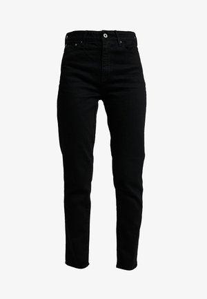 3301 HIGH STRAIGHT 90'S ANKLE - Straight leg -farkut - black/black