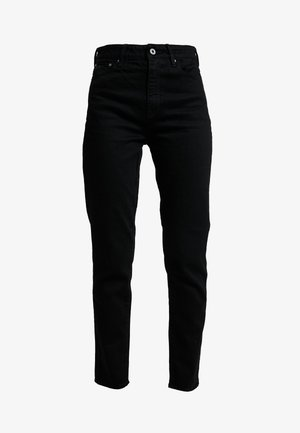 3301 HIGH STRAIGHT 90'S ANKLE - Jeans straight leg - black/black