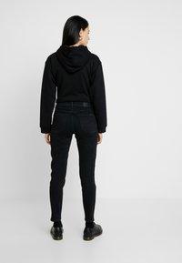 G-Star - NAVIK HIGH SLIM ANKLE POP - Jeans slim fit - jet black - 2