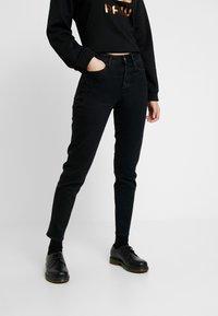 G-Star - NAVIK HIGH SLIM ANKLE POP - Jeans slim fit - jet black - 0