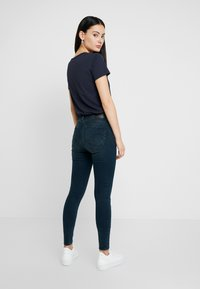 G-Star - LHANA HIGH SUPER SKINNY - Jeans Skinny Fit - worn in emerald - 2