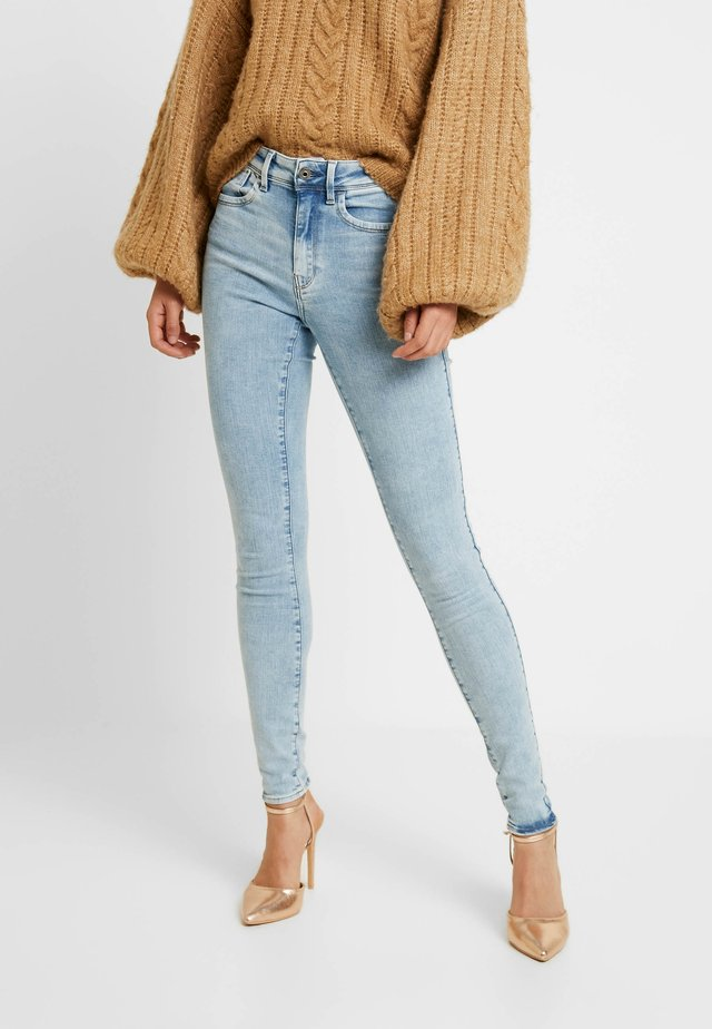 LHANA HIGH SUPER SKINNY - Jeans Skinny Fit - sun faded iceberg