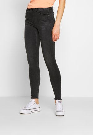 LHANA HIGH SUPER SKINNY - Jeans Skinny Fit - worn in slate