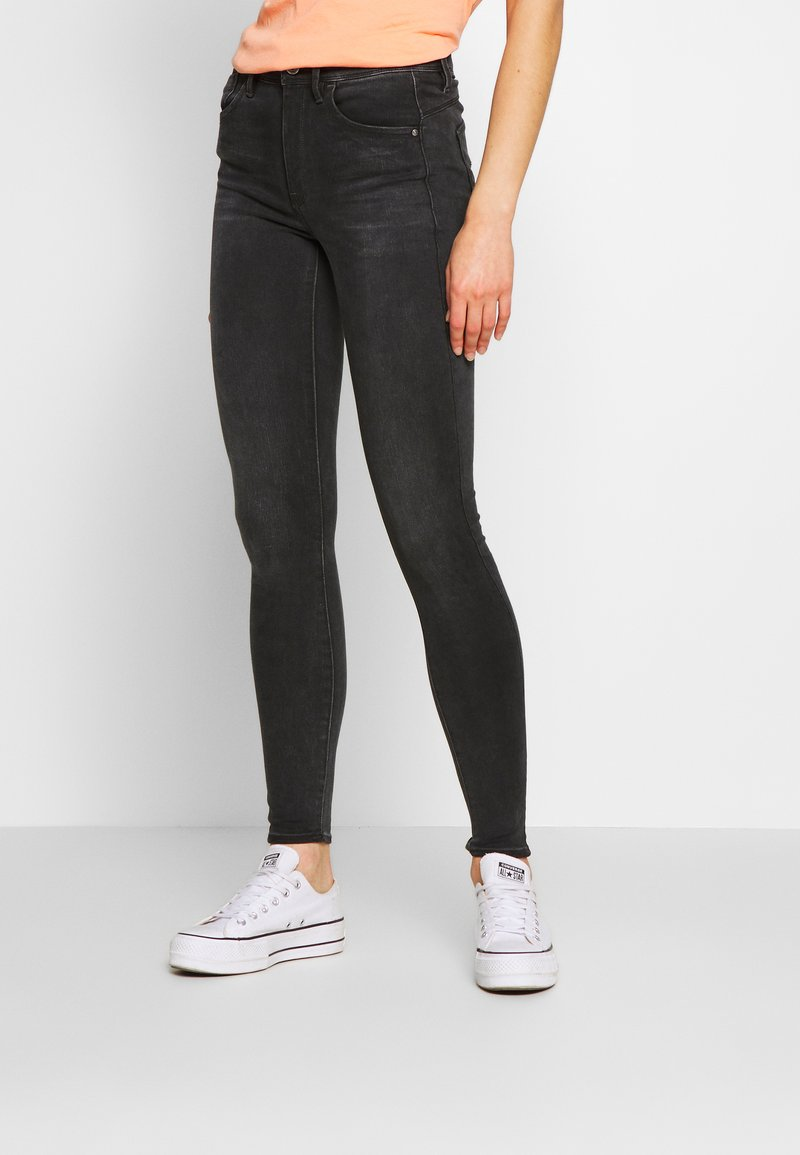 G-Star - LHANA HIGH SUPER SKINNY - Jeans Skinny Fit - worn in slate
