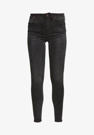 LHANA HIGH SUPER SKINNY - Jeans Skinny - worn in slate