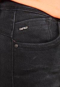 G-Star - LHANA HIGH SUPER SKINNY - Jeans Skinny Fit - worn in slate - 4