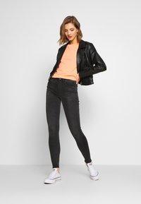 G-Star - LHANA HIGH SUPER SKINNY - Jeans Skinny Fit - worn in slate - 1