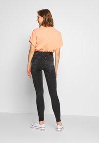 G-Star - LHANA HIGH SUPER SKINNY - Jeans Skinny Fit - worn in slate - 2