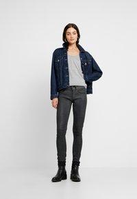 G-Star - LYNN MIDGE SKINNY - Jeans Skinny Fit - dark aged cobler - 1