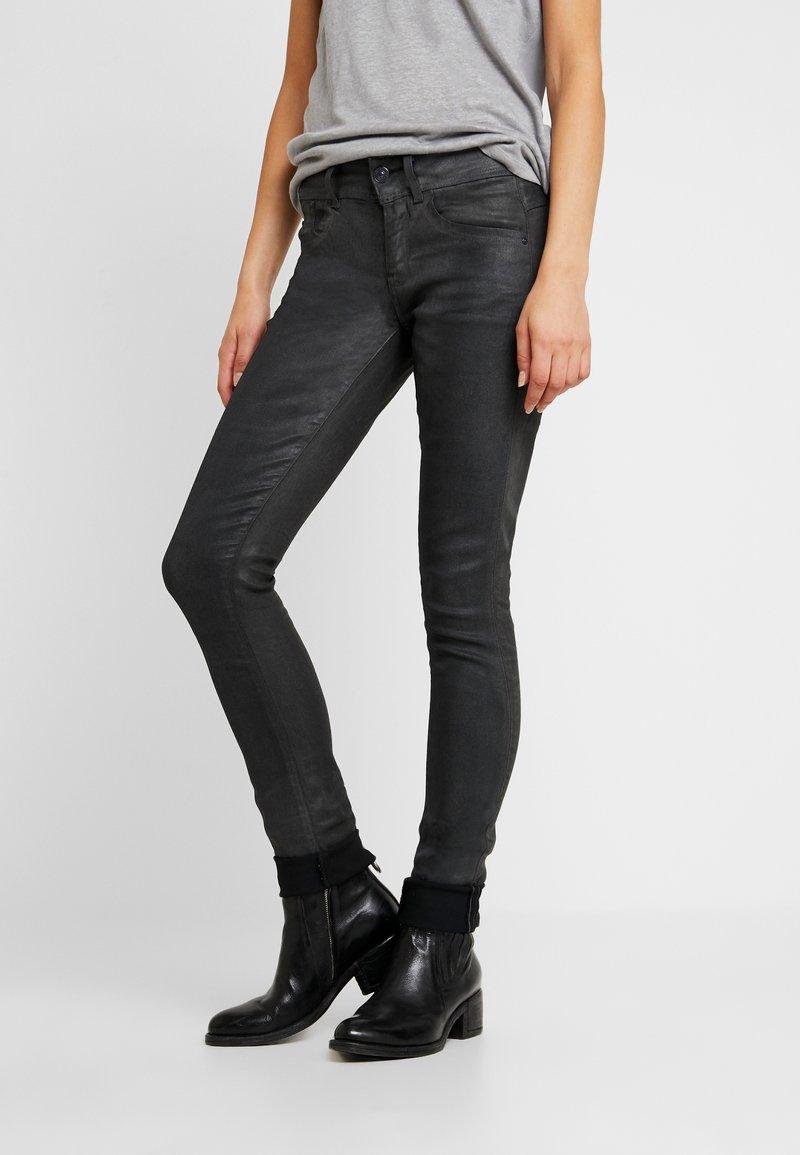 G-Star - LYNN MIDGE SKINNY - Jeans Skinny Fit - dark aged cobler