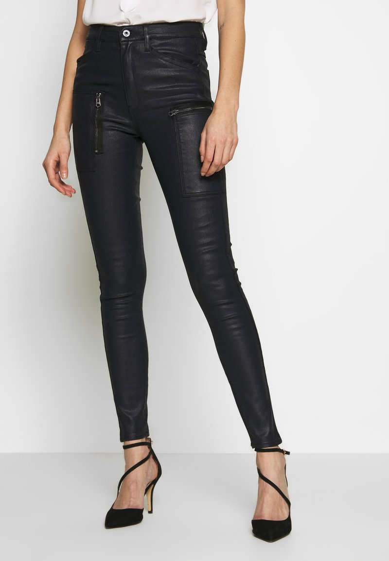 G-Star - SHAPE POWEL HIGH - Jeans Skinny Fit - rinsed
