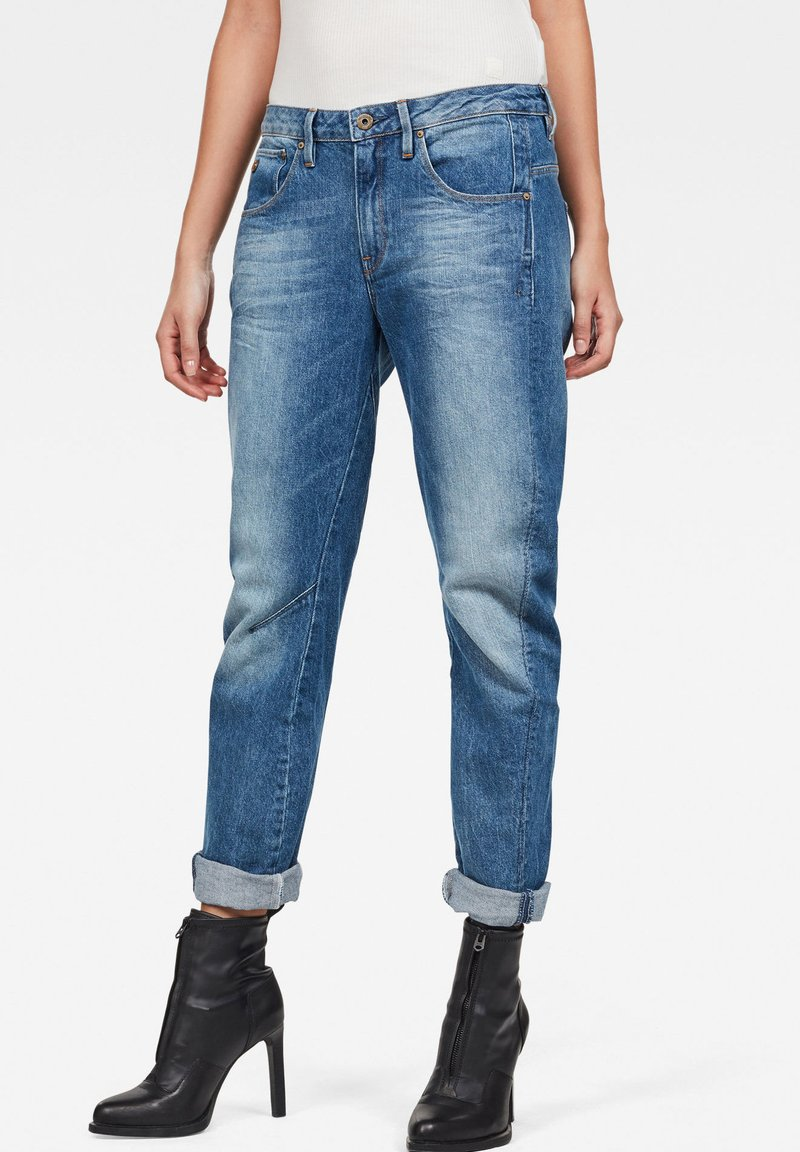 G-Star - ARC 3D LOW BOYFRIEND - Straight leg jeans - light blue