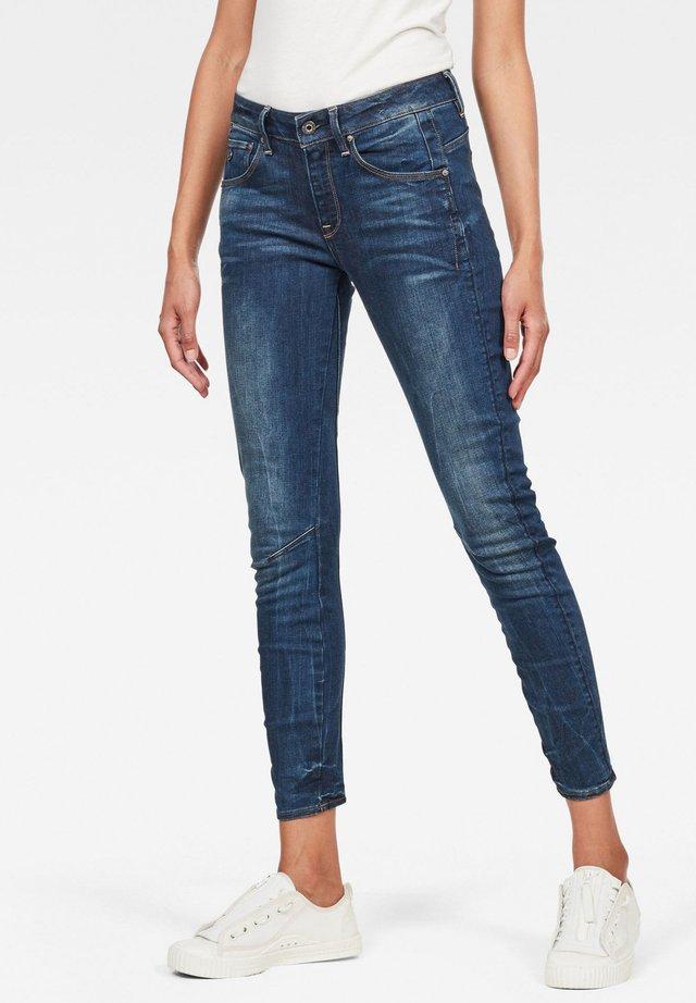 ARC 3D MID  - Jeansy Skinny Fit - dark-blue denim