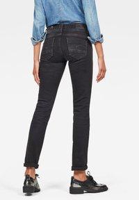 G-Star - MIDGE - Jeans Straight Leg - dusty grey - 1
