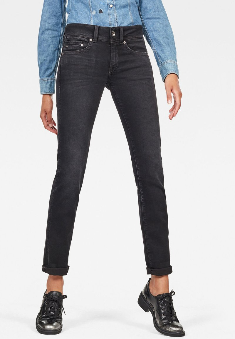 G-Star - MIDGE - Straight leg jeans - dusty grey