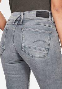 G-Star - LYNN MID SKINNY - Jeans Skinny - faded industrial grey - 2