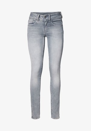 LYNN MID SKINNY - Jeans Skinny - faded industrial grey