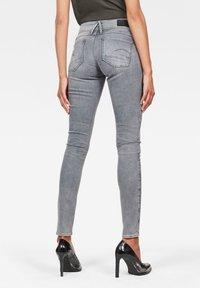 G-Star - LYNN MID SKINNY - Jeans Skinny - faded industrial grey - 1