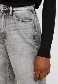G-Star - JANEH ULTRA HIGH MOM - Jeans Tapered Fit - sun faded basalt - 3