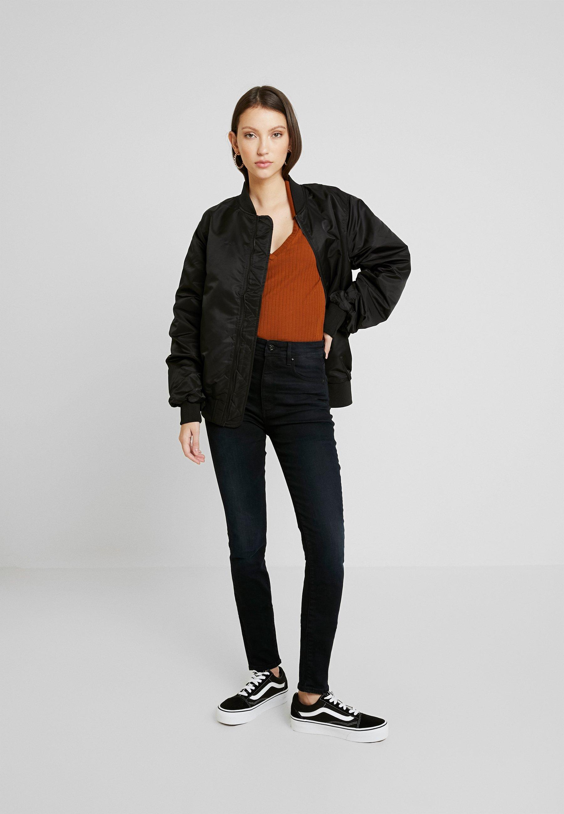 G-Star KAFEY - Jeansy Skinny Fit - worn in blue storm