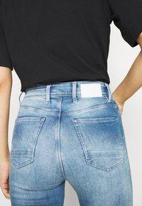 G-Star - KAFEY ULTRA HIGH SKINNY - Jeans Skinny Fit - sun faded azurite - 5