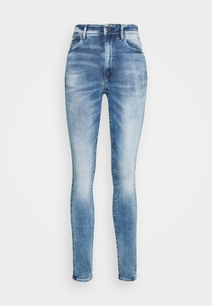 KAFEY ULTRA HIGH SKINNY - Vaqueros pitillo - sun faded azurite
