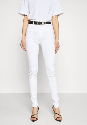KAFEY ULTRA HIGH SKINNY - Jeans Skinny Fit - white