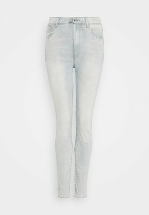 KAFEY ULTRA HIGH SKINNY - Jeans Skinny Fit - sun faded cameo blue