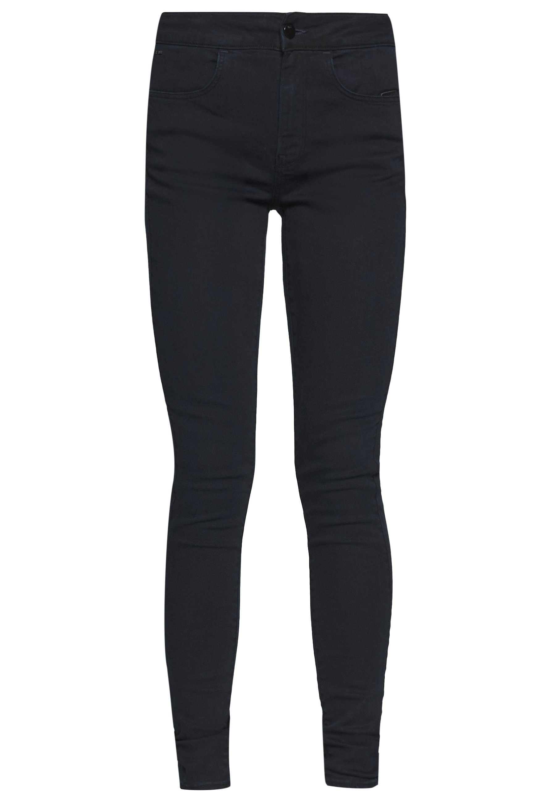 G-Star CITI YOU HIGH SUPER SKINNY - Jeansy Skinny Fit - worn in midnight wp