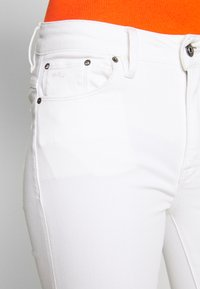 G-Star - HIGH SKINNY RIPPED ANKLE - Jeans Skinny Fit - white