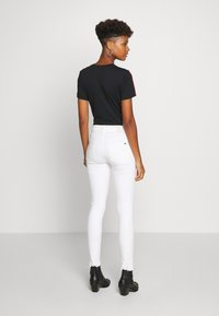 G-Star - HIGH SKINNY RIPPED ANKLE - Jeans Skinny - white - 2