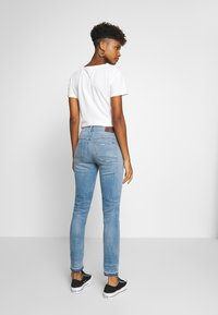 G-Star - HIGH SKINNY RIPPED ANKLE - Jeans Skinny Fit - vintage ripped sky - 2