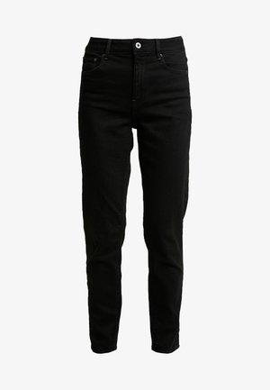 HIGH ANKLE - Jean droit - jet black