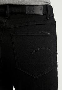 G-Star - HIGH ANKLE - Straight leg jeans - jet black - 3